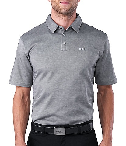 Black Clover Short-Sleeve Supreme Golf Polo