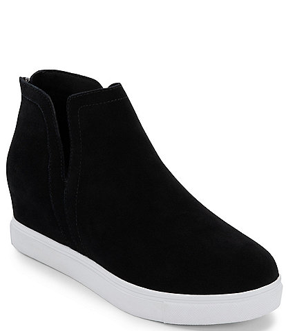 Blondo Genna Waterproof Suede Wedge Sneakers