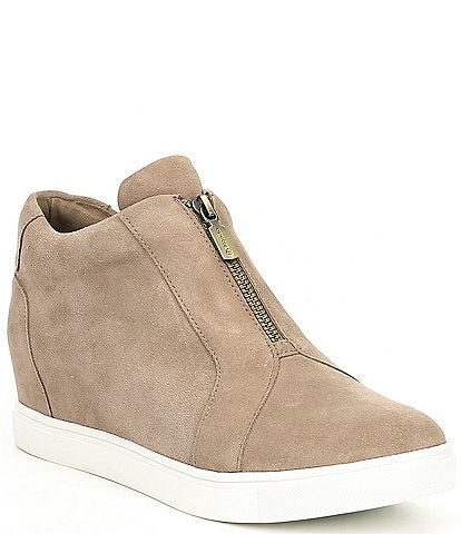 Blondo Glenda Suede Wedge Sneakers