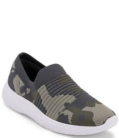 Blondo Karen Camo Printed Knit Sneakers