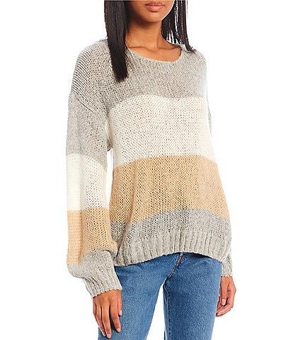 Blu Pepper Colorblock Sweater