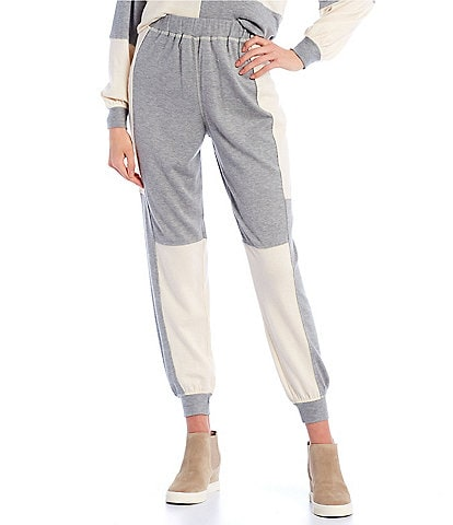 Blu Pepper Coordinating Colorblock Jogger Pants