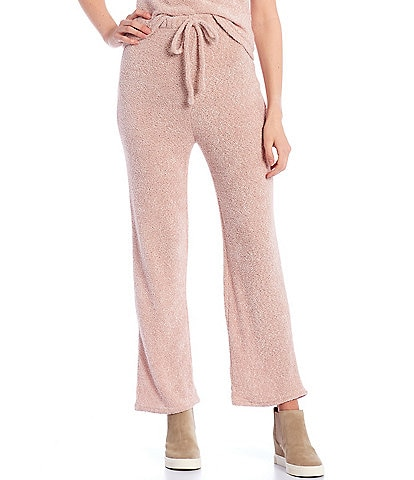 Blu Pepper Coordinating Fuzzy Knit Lounge Pants
