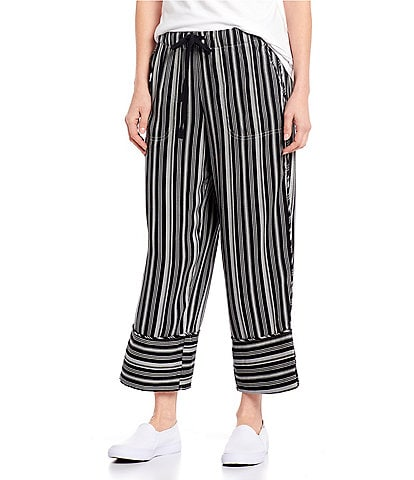 Blue Earth Knox Relaxed Pull-On Stripe Pant