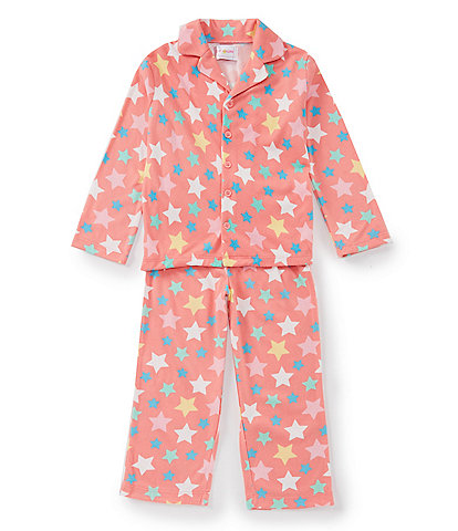 Blush by Us Angels Little Girls 2T-6X Star Coat & Pants Set
