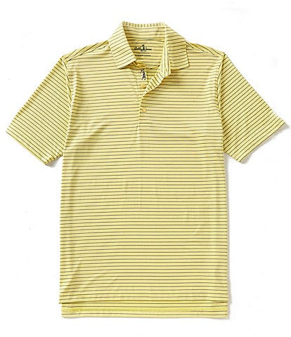 Bobby Jones Golf Performance Poly Line Stripe Polo