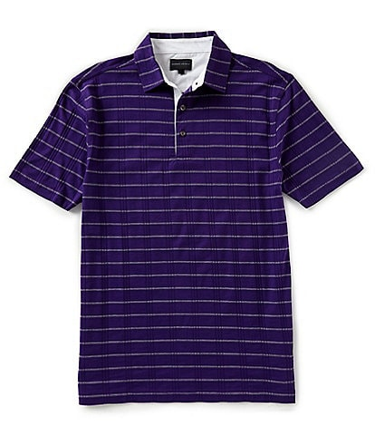 Bobby Jones Short-Sleeve Apollo Stripe Polo Shirt