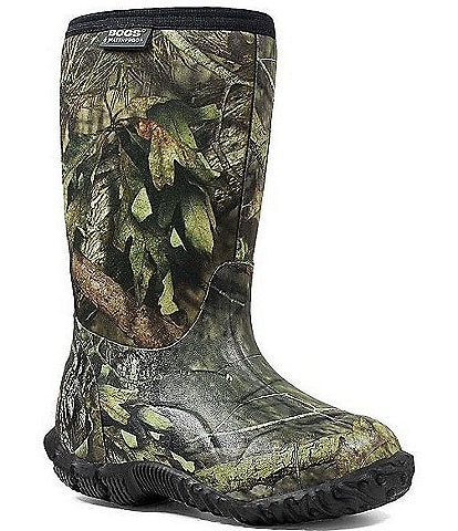 BOGS Boys' Classic Mossy Oak Waterproof Winter Boots Infant