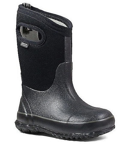 BOGS Kid's Classic Waterproof Boot With Handles