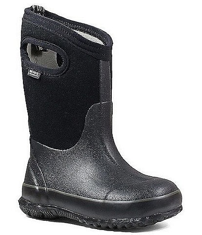 BOGS Kids' Classic Waterproof Winter Boot With Handles Infant