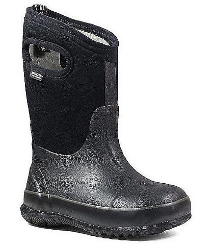 BOGS Kids' Classic Waterproof Winter Boot With Handles Toddler