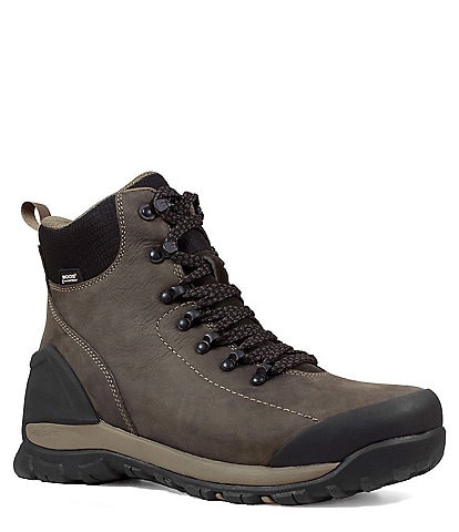 BOGS Men's Foundation Leather Waterproof Work Boot