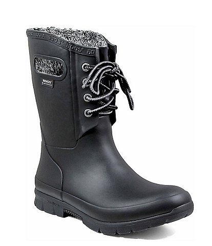 BOGS Women's Amanda Plush Waterproof Winter Boots