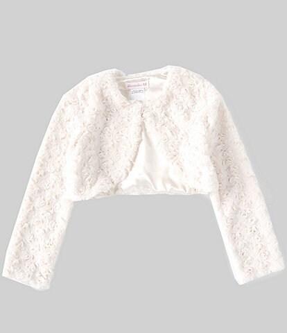Bonnie Jean Big Girls 7-16 Faux-Fur Bolero Jacket