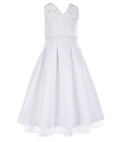 Bonnie Jean Big Girls 7-16 Sleeveless Fit-And-Flare Communion Dress