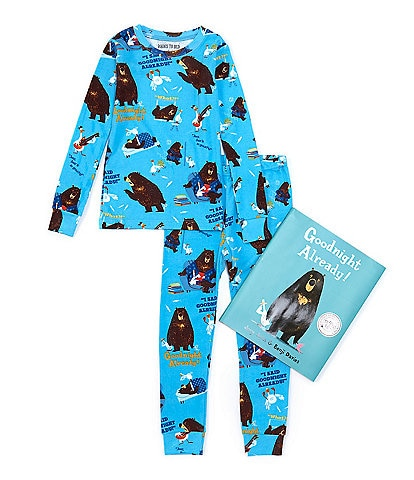 Books To Bed Little/Big Boys 2-10 Goodnight Already Two-Piece Pajamas & Book Set