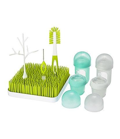 Boon NURSH & GRASS BUNDLE Bottles & Accessories Starter Set