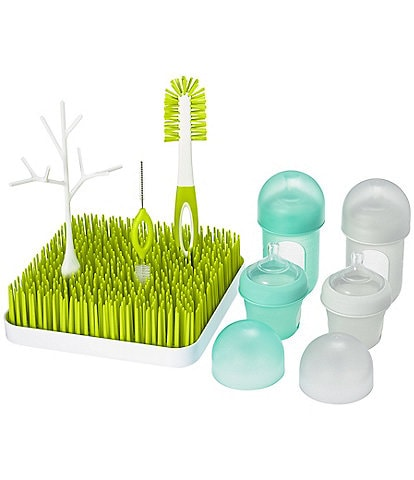 Boon NURSH & GRASS BUNDLE Bottles & Accessories Drying Rack Starter Set