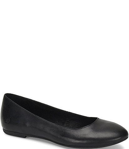 Born Adour Leather Ballet Slip On