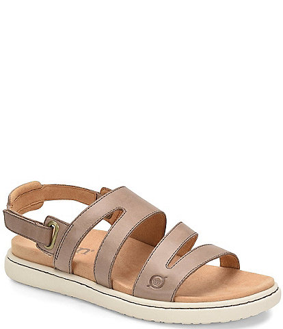 Born Dhyr Strappy Leather Sandals