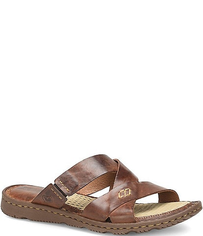 Born Hayka Leather Slides