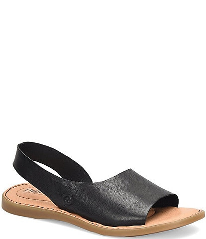 Born Inlet Leather Sling Sandals