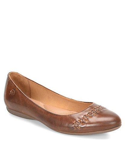 Born Madeleine Leather Ballet Flats