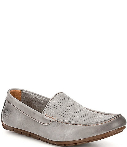 Born Men's Allan Perforated Suede Drivers