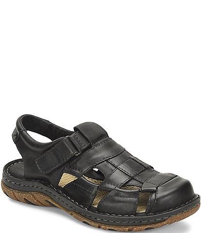 Born Men's Cabot III Leather Fisherman Sandal