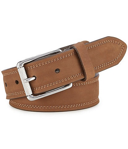 Born Men's Distressed Leather Belt