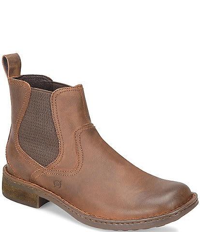 Born Men's Hemlock Leather Chelsea Boots