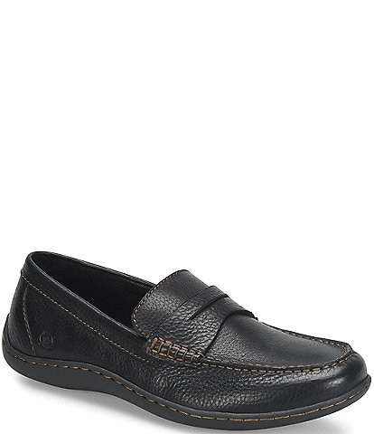 Born Men's Simon II Leather Penny Loafer
