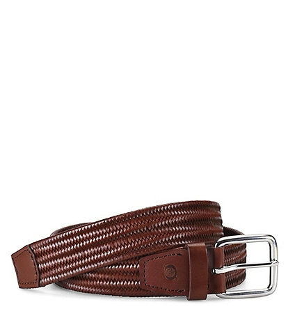 Born Men's Stretch Leather Braid Belt