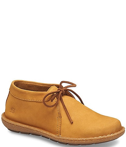 Born Nuala Suede Leather Ankle Booties