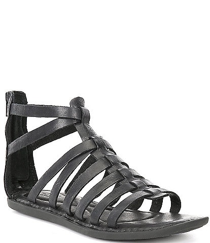 Born Ohm Banded Leather Sandals