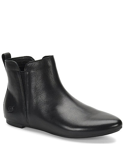 Born Remo Leather Pixie Booties