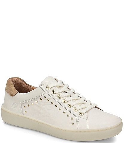 Born Sur Leather Stud Sneakers