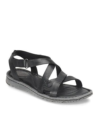 ecb33bbdd29af7 Born Trinidad Leather Sandals