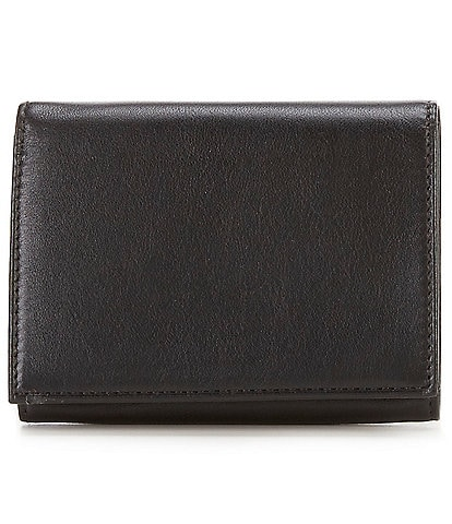 Bosca Nappa Vitello Single I.D. Trifold Wallet