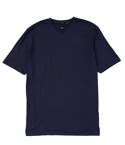 BOSS Big & Tall Tilson Short-Sleeve V-Neck Tee