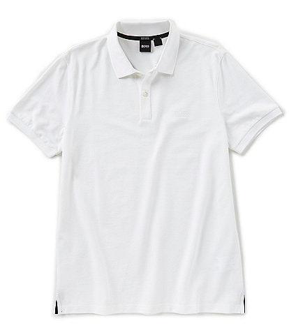 9ae3b052dc2b BOSS Pallas Pique Short-Sleeve Polo Shirt