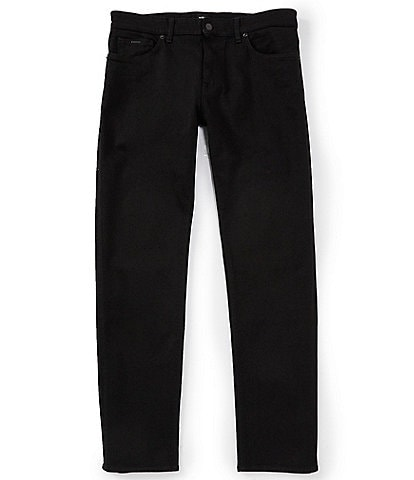 BOSS Candiani Maine Black Regular-Fit Stretch Denim Jeans