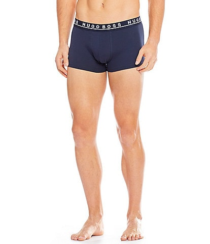 BOSS Hugo Boss Cotton Stretch Trunks 3-Pack
