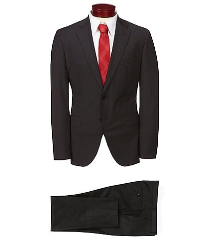 BOSS Hugo Boss Johnstons/Lenon Solid Wool Suit
