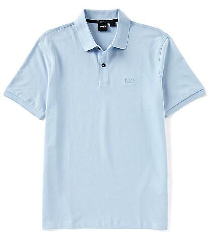 BOSS Hugo Boss Pallas Pique Regular Short-Sleeve Polo Shirt