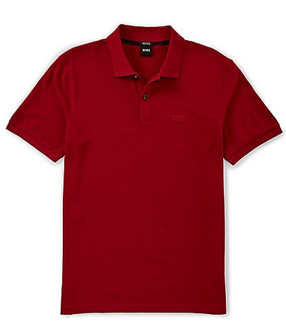 BOSS Hugo Boss Pallas Pique Regular Short-Sleeve Polo Shirt