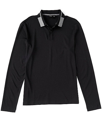 BOSS Pearl Long-Sleeve Polo Shirt