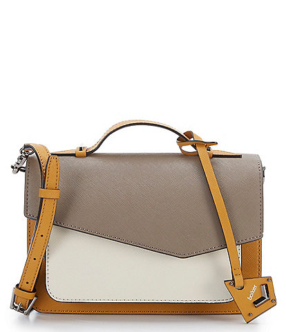 Botkier Cobble Hill Truffle Colorblocked Crossbody Bag