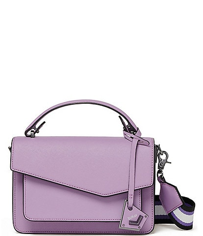 Botkier Cobble Hill Saffiano Leather Flap Crossbody Bag