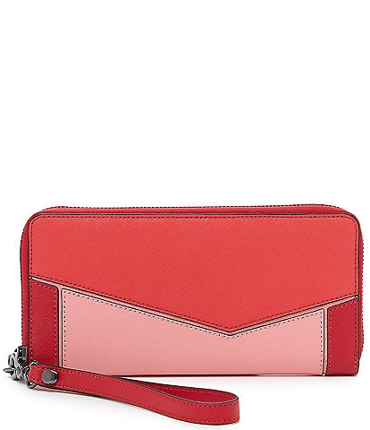 Botkier Cobble Hill Zip Around Colorblock Wallet